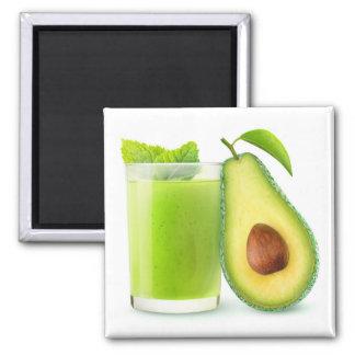 Avocado smoothie magnet