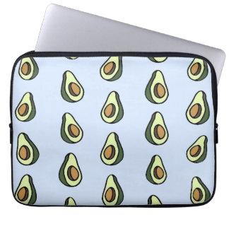 Avocadon't Pattern Laptop Sleeve