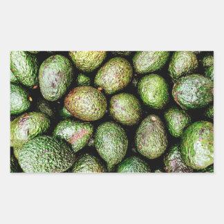 Avocados Rectangular Sticker