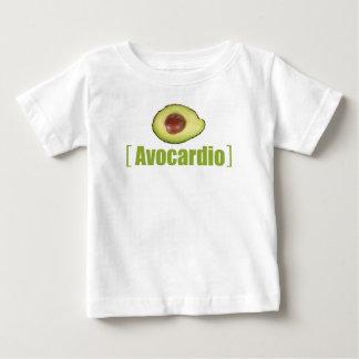 Avocardio Funny avocado Illustrated Pun Vegetable Baby T-Shirt