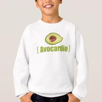Avocardio Funny avocado Illustrated Pun Vegetable Sweatshirt