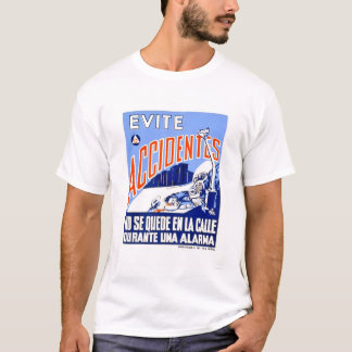 Avoid Accidents 1942 WPA T-Shirt