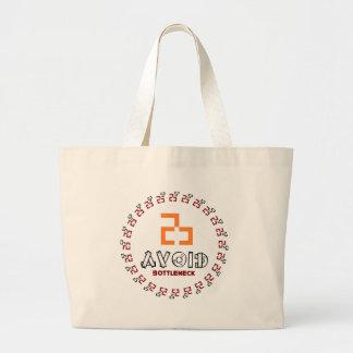 avoid bottleneck large tote bag
