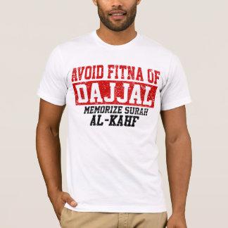 Avoid Fitna Of Dajjal Memorise Surah Al - Kahf T-Shirt