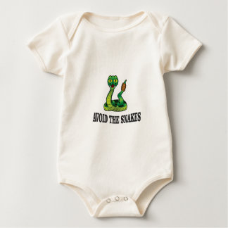 avoid the snakes baby bodysuit