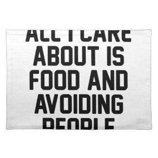 Avoiding People Placemat