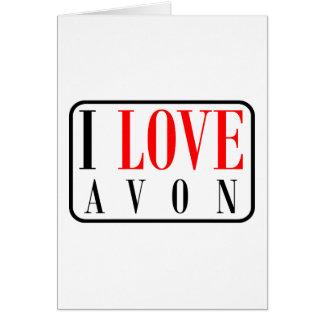Avon, Alabama City Design Greeting Card