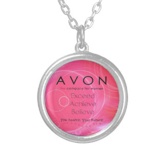 Avon Believe Silver Plated Necklace