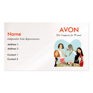 197 Avon Business Cards And Avon Business Card Templates