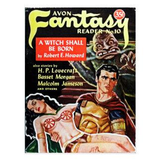 Avon Fantasy Reader Postcard