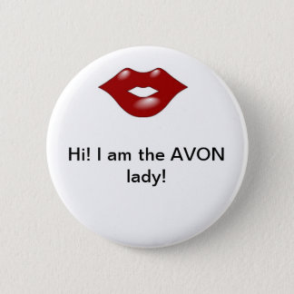 Avon Lady 2 6 Cm Round Badge