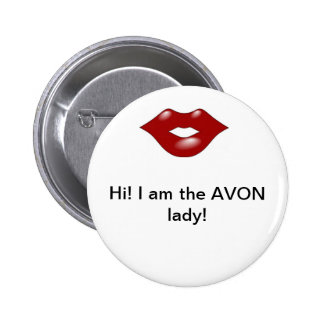 Avon Lady 2 6 Cm Round Badge