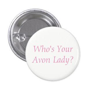 Avon Lady Button