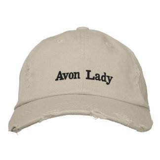 Avon Lady Hat Embroidered Cap