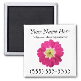 Avon Magnetic Business Card Square Magnet