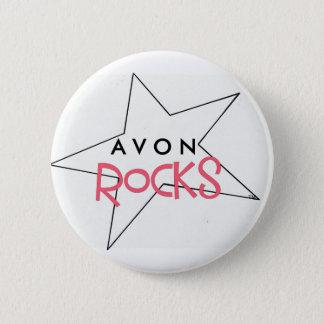 AVON Rocks! 6 Cm Round Badge