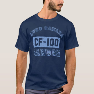 Avro Canada Canuck Fighter Jet T-Shirt