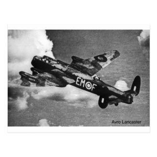 Avro-Lancaster Postcard