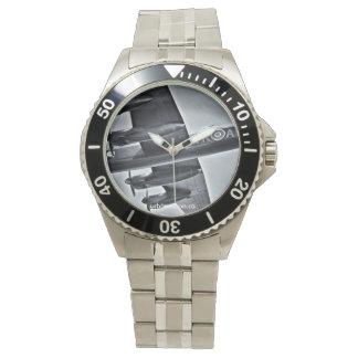 Avro Lancaster Stainless Steel Wristwatch