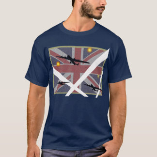Avro Lancaster Union Jack Tee
