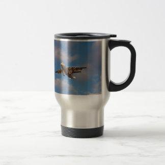 Avro RJ85 Jet Landing Travel Mug
