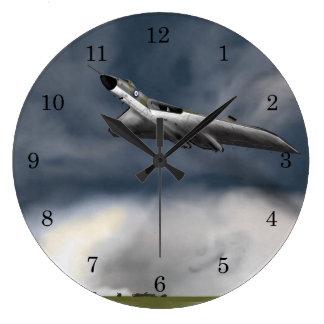 Avro Vulcan Bomber Large Clock