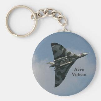 Avro Vulcan Delta Wing Bomber Basic Round Button Key Ring
