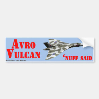 Avro Vulcan Sticker Bumper Sticker