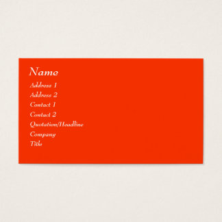 AVSAR Custom Business Cards