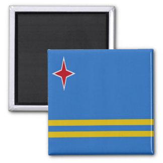 AW - Aruba - Flag Magnet
