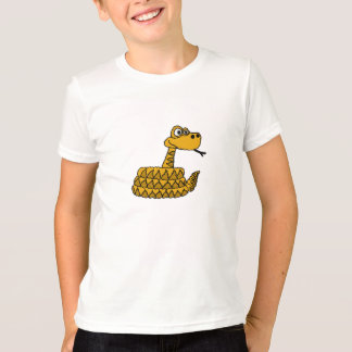 AW- Funny Rattlesnake Cartoon T-shirt