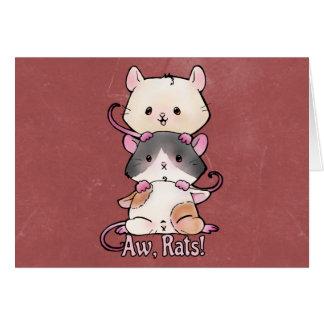 Aw, Rats! Card