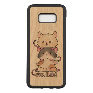 Aw, Rats! Carved Samsung Galaxy S8+ Case