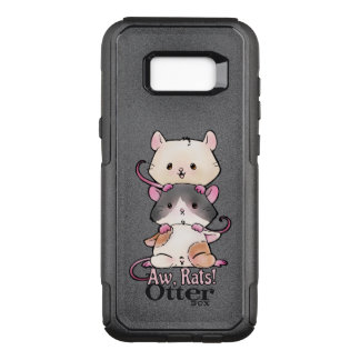 Aw, Rats! OtterBox Commuter Samsung Galaxy S8+ Case