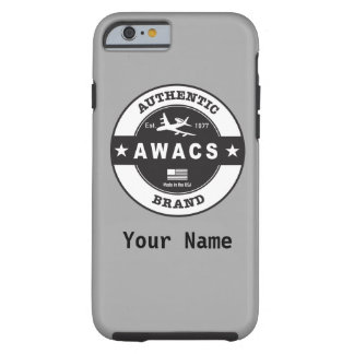 AWACS Circle Badge Tough iPhone 6 Case