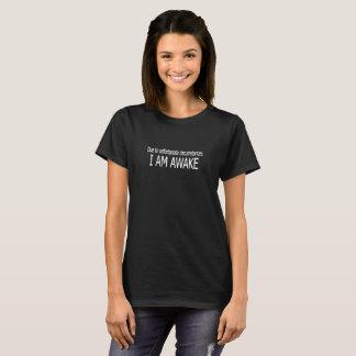 Awake Logo Humour Funny T-Shirt