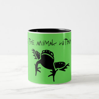 """Awake the Animal Within"" Tree Frog Mug"