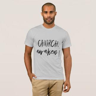 Awaken, Church! Light colored shirt