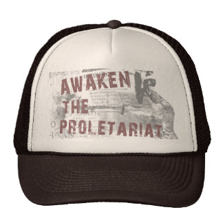 Awaken The Proletariat Cap