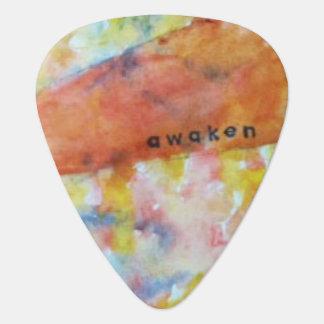 Awaken watercolor guitar picks guitar pick