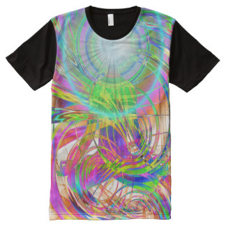 Awakening Light (psy) All-Over Print T-Shirt