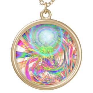 Awakening Light (psy) Gold Plated Necklace