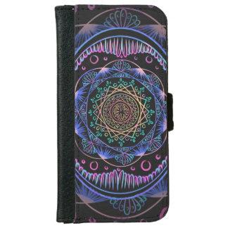 Awakening zen pattern, reiki, healing, chakra iPhone 6 wallet case