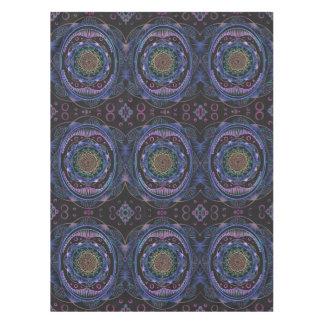 Awakening zen pattern, reiki, healing, chakra tablecloth