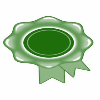 Award Ribbon Green Photo Cutout