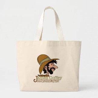 Award-Winning Children's Artist James Coffey Jumbo Tote Bag