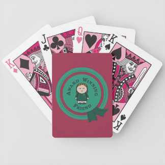 Award Winning Friend Bicycle Playing Cards