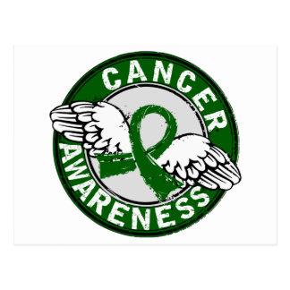 Awareness 14 Liver Cancer Postcard