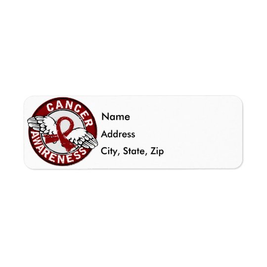 Awareness 14 Multiple Myeloma Return Address Label