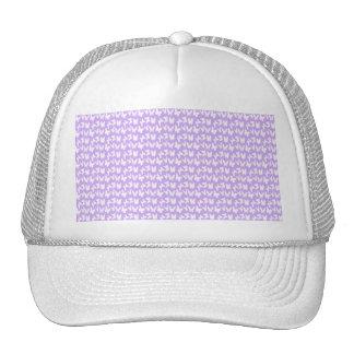 Awareness Butterflies on Lilac Purple Cap